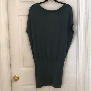 Moda International teal tunic dress and/or top